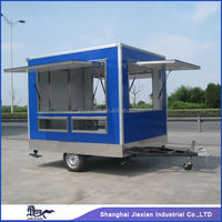 JX-FS250 on promotion! three sides window open outdoor Mobile mini truck food