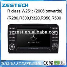 ZESTECH 7 inch touch screen car stereo for Mercedes Benz R class W251 R300 with GPS canbus bluetooth 3G