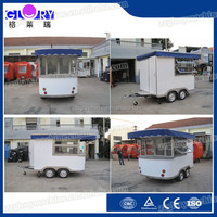 With 100L Water Tanks Mobile Coffee Kiosk