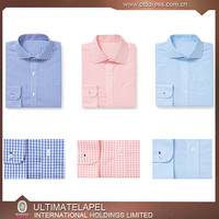 Mens Clothing Manufacturing stripe Shirt Bespoke Mens Casual Shirts