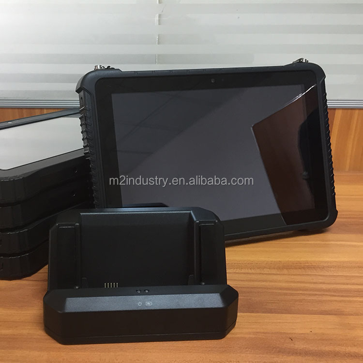 10 inch industrial rugged POE terminal rugged waterproof shockproof tablet with barcode scanner NFC RFID PDA