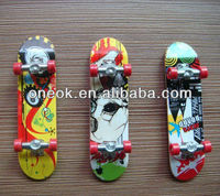 9.8cm ziny alloy mini finger skateboard toys for Kids and Adults