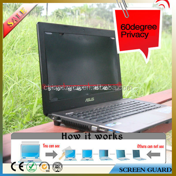 Office Desktop Privacy Screens Cover Filter For Laptop Computer for Any Size