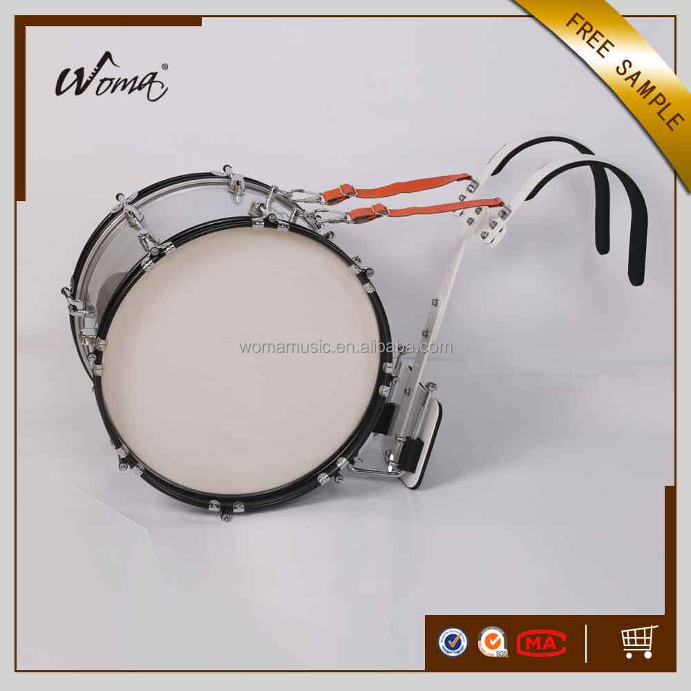 2017 New Pop Grade Marching Bass Drum With Carrier