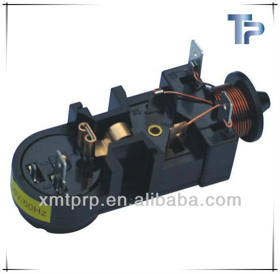 black and white dandoss type motorcycle starter relay