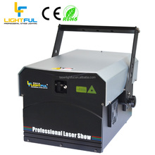 HOT SALE 12W RGB CNI laser diode animation laser stage lighting