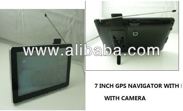 7 INCH GPS NAVIGATOR WITH CAMERA