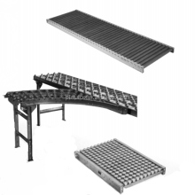 Gravity conveyors, gravity roller conveyors, gravity conveyor system