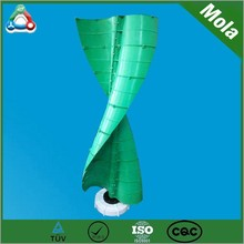 Hot selling Low Noise Easy To Install VAWT 200W 300w 2 Blades decorative wind turbine