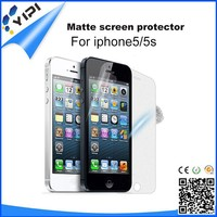 Factory Price!!! Cheap Anti-glare Screen guard For Iphone 5/5S Mobile Phones Screen Protector, Matte Screen Protector/