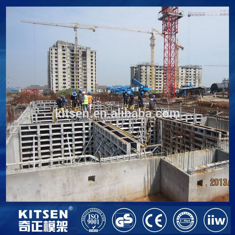 OEM Design clean finish concrete retaining wall formwork
