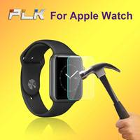 Manufacturer Wholesale High Transparency 9H 2.5D Tempered Glass For Apple Watch Glass Screen Protector 38''/ 42''