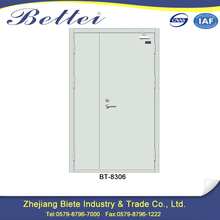 Fast shipment half hour steel fire door for the hotel mall