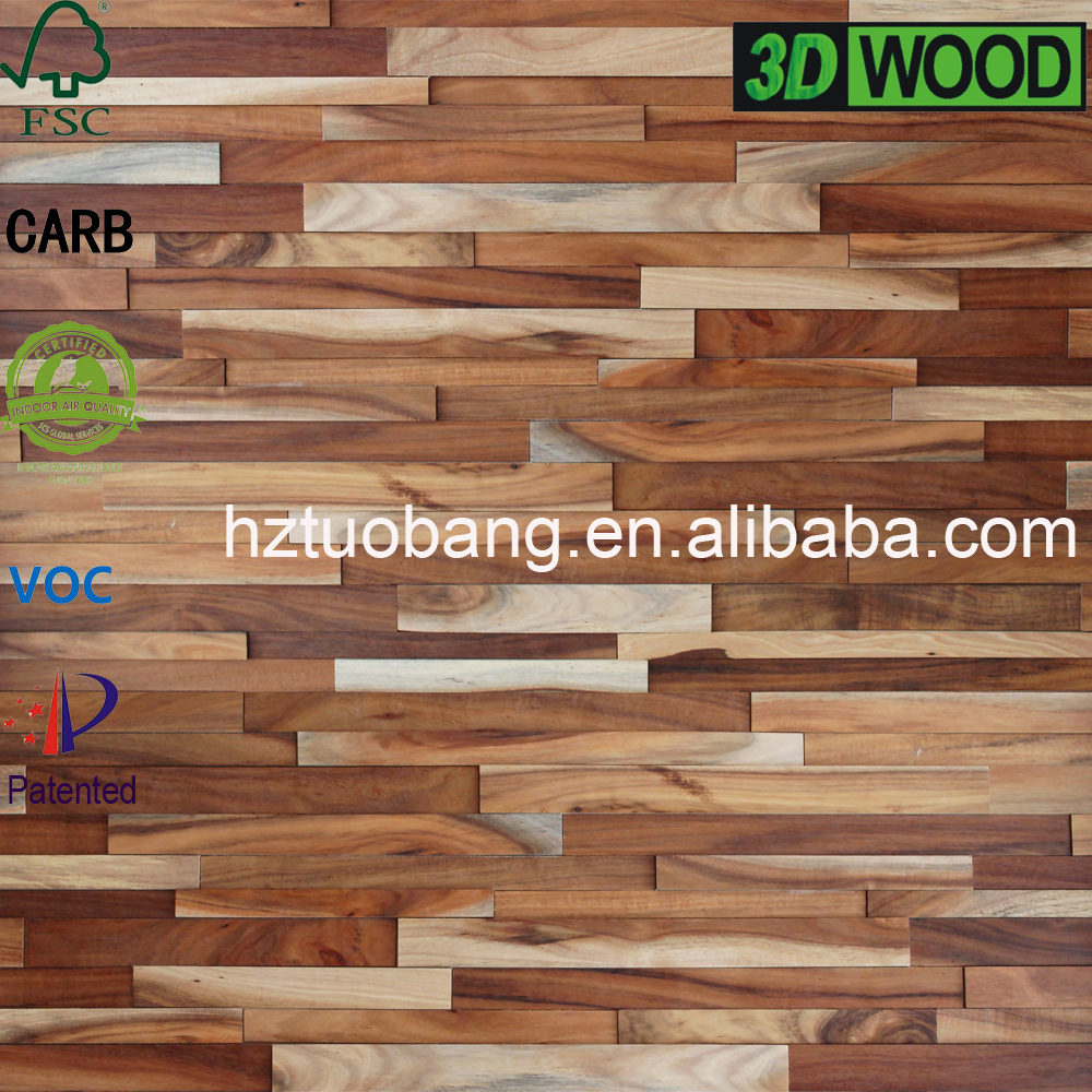 Living room Reclaimed Wood Wall Covering