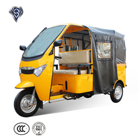 China Scooter Gas Three Wheel Cargo 200cc Mini Car For Sale
