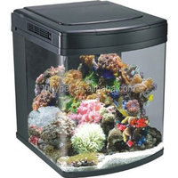 65L BOYU Marine Nano Aquarium/Aquarium Nano Tank for Home Decoration HS-45/45A/45L