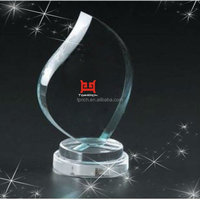 Water Droplets Shape Acrylic Inflatable Trophy Cup Made in China