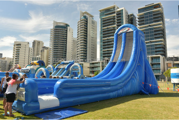 Giant inflatable trippo water slide for adult / hippo giant inflatable water slide