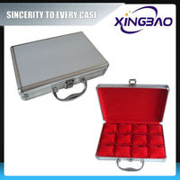 Stainless watch case back,ABS panel watch case size,aluminum thailand watch box