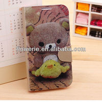 FL2886 2013 Guangzhou new arrival stand cute bear cell phone case for samsung galaxy s4 i9500