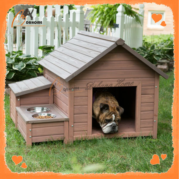 High quality custom new wooden outdoor dog kennel for sale