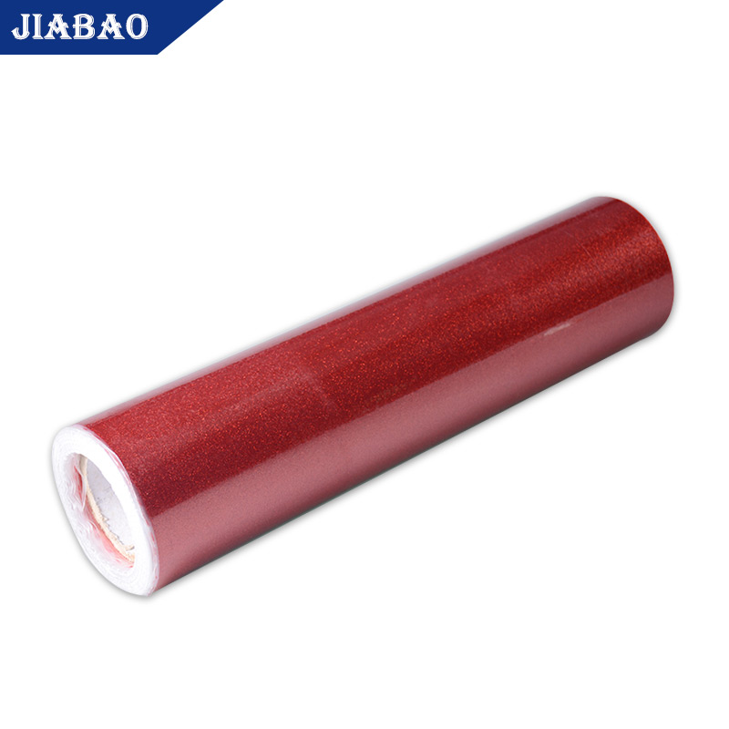 Jiabao wholesale korea heat transfer vinyl glitter htv
