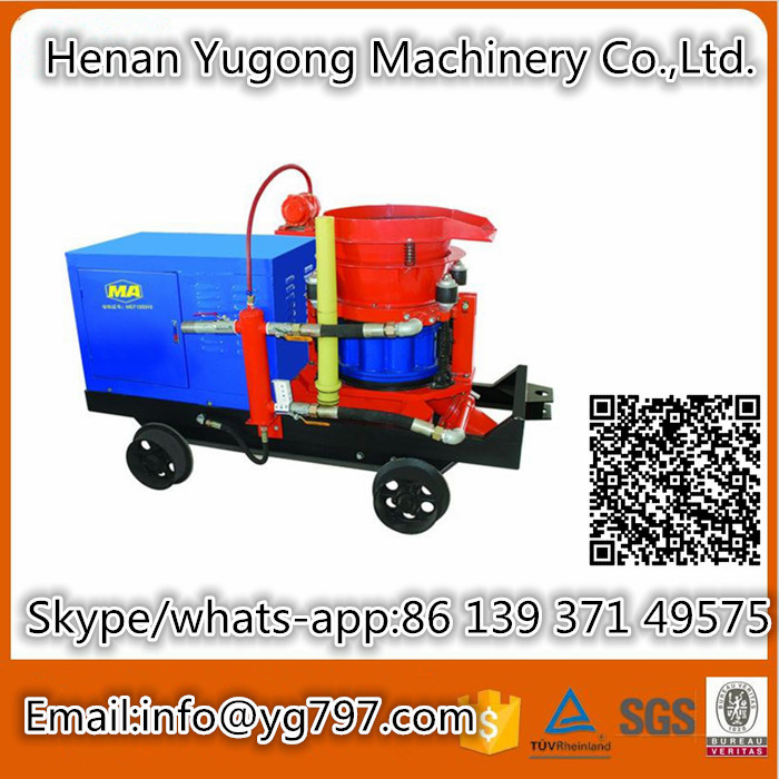 Good Price From Factory to Karaman pz-5 shotcrete machine