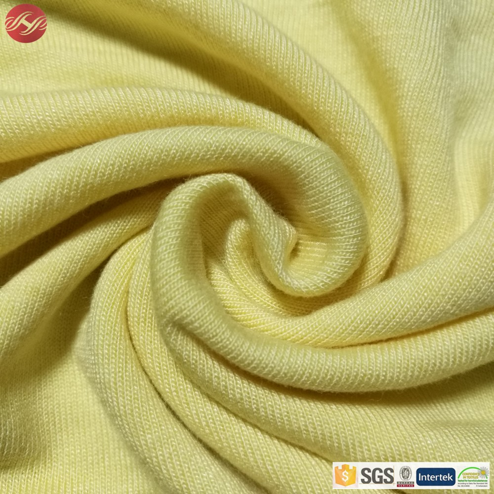 100% Bamboo Single Jersey Knitted Bamboo fiber Fabric