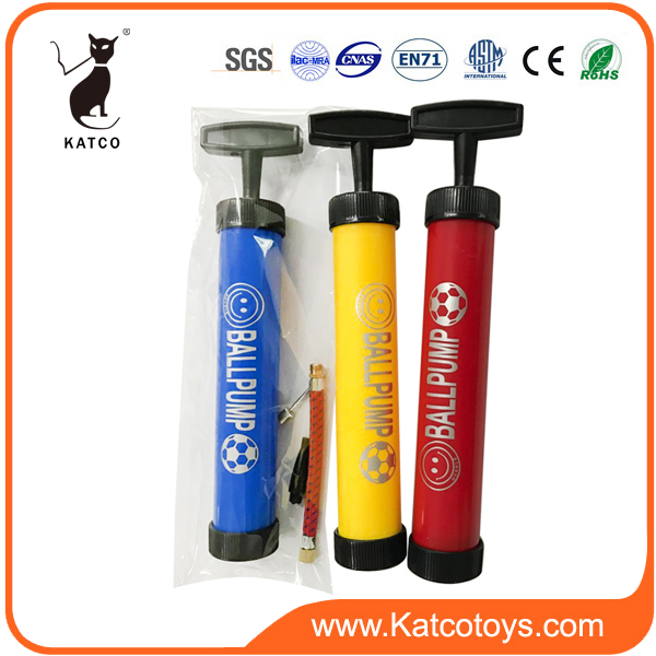 Promotion Plastic ball pumpstic ABS hand operated air ball pump for balloon inflator