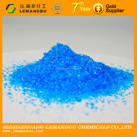 High Quality Copper Sulfate Pentahydrate 98%copper sulphate for swimming pools