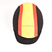HOSE EQUESTRIANISM HELMET COVER 87% Polyester 13% Spandex Cover Helmet with Reflective LOGO