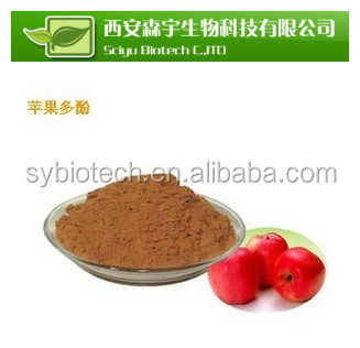apple seed extract , High quality natural plant extract Apple Polyphenol(Anti-radiation