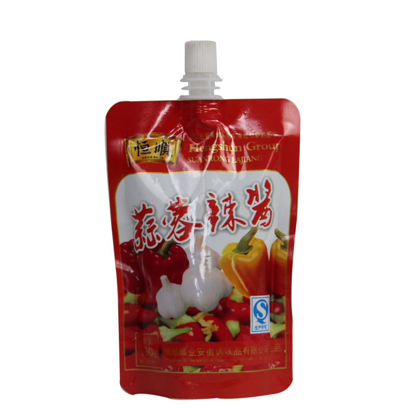 best selling food grade fabric softener spout pouch