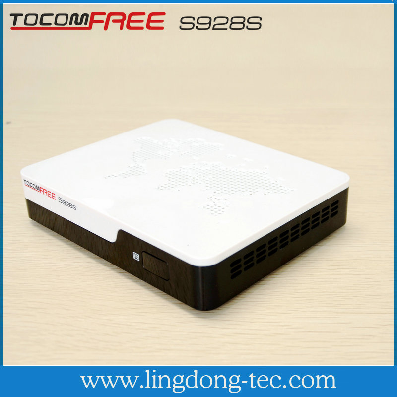 Tocomfree S928S fta software upgrade digital satellite tv receiver for south america