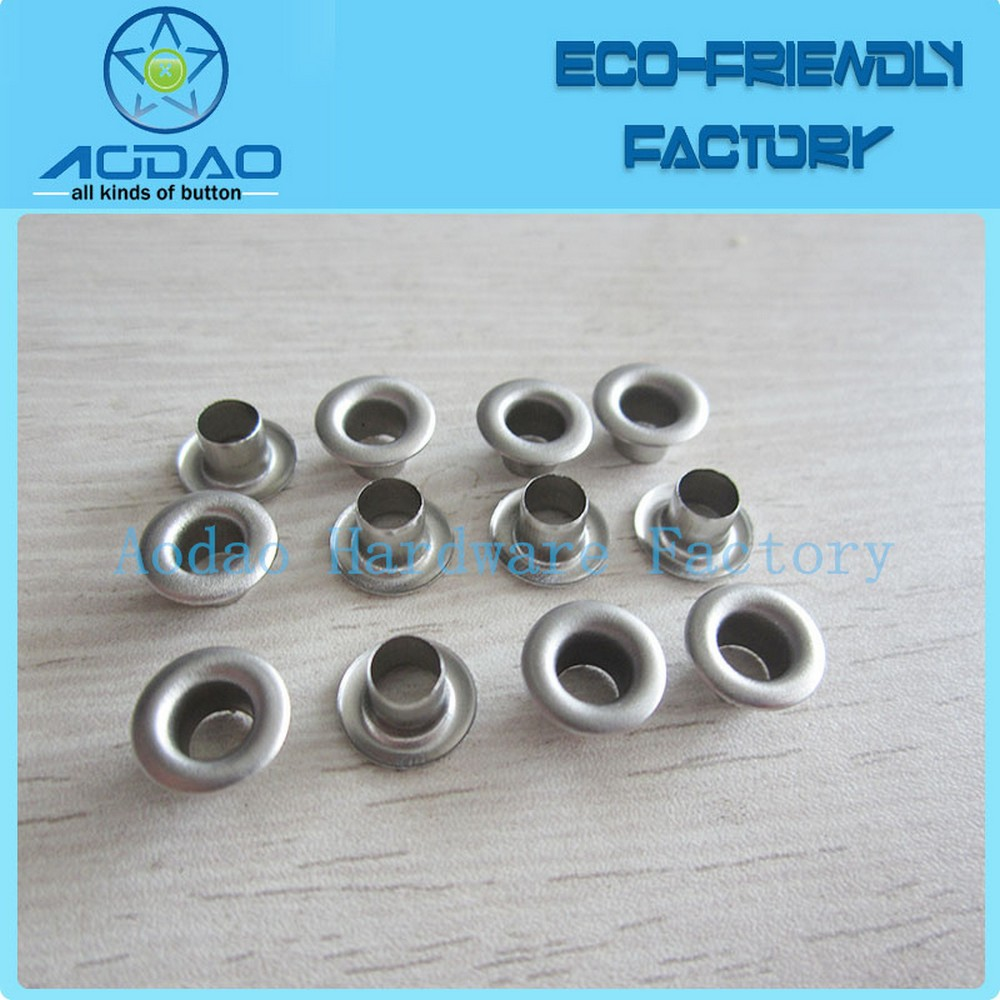 Round Grommets And Washer Metal Eyelet For Tent