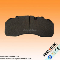 Truck and bus brake pad WVA29093 for RNST AUWARTER IVECO KAROSA LECINENA MAN MERCEDES backing plate WVA 29093 GDB5072