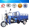 Newest Electric Tricycle Large Size Three Wheel Motorcycle for Cargo Air Cooling Trike Made in China