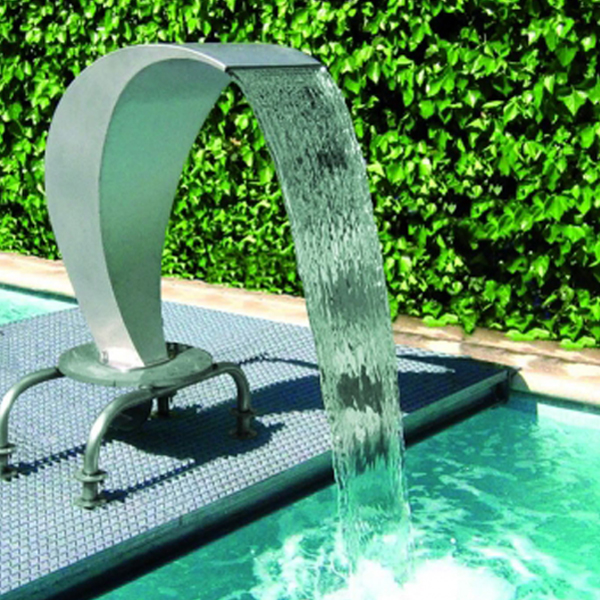 Swimming Pool Ornaments Stainless Steel Water Fountain Cobra ...
