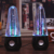Multi-color LED lights home decoration fountain dancing water speakers