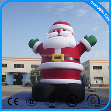Hot Sale Advertising Christmas Inflatable Santa Claus Characters For Best Price