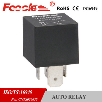 copper terminal automotive 5-pin dc 12v 24v 80a micro jd1914 relay