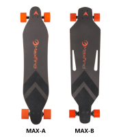 New Removeable battery pack maple Mini electric longboard skateboard with Powerful dual motor