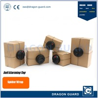 Dragon Guard High Sensitive Anti-Theft Box/Carton/Package Guard Spider Wrap, 2/3 Ways Auto EAS Security Self-Alarming Tag