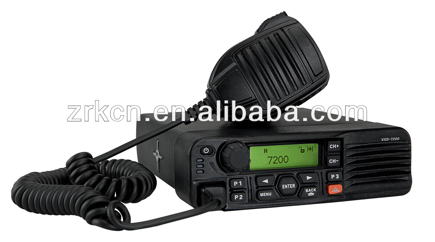 VXD-7200 two-way mobile radio phone scrambler high frequency walkie talkie