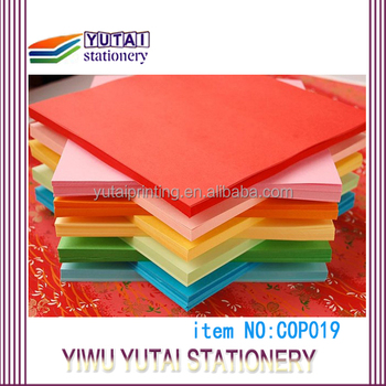 factory 15*15cm / 50colors mixed color origami paper