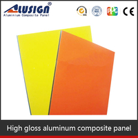 Alusign stucco wall panels manufacturer aluminum composite panel