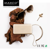 MAXCO external mobile phone battery power bank 5000 mah supply, classical powerbank