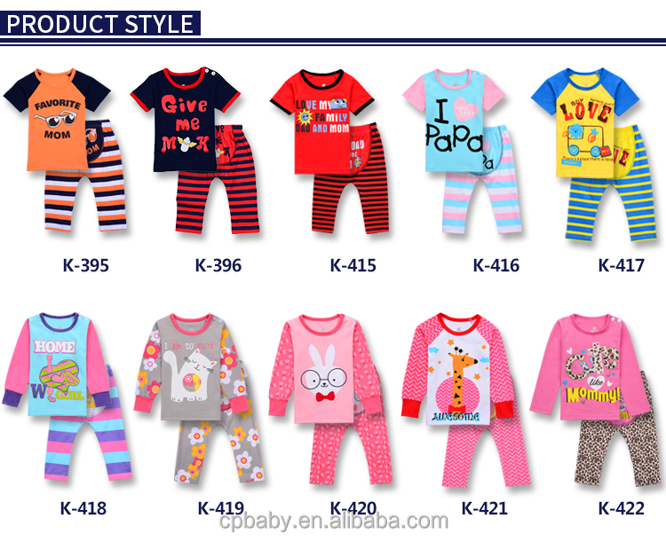 caluby brand new baby size pyjamas baby clothing sets baby kids
