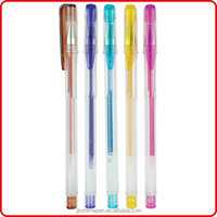 2014 new products Hot sale Promotion scented glitter gel pens stationery