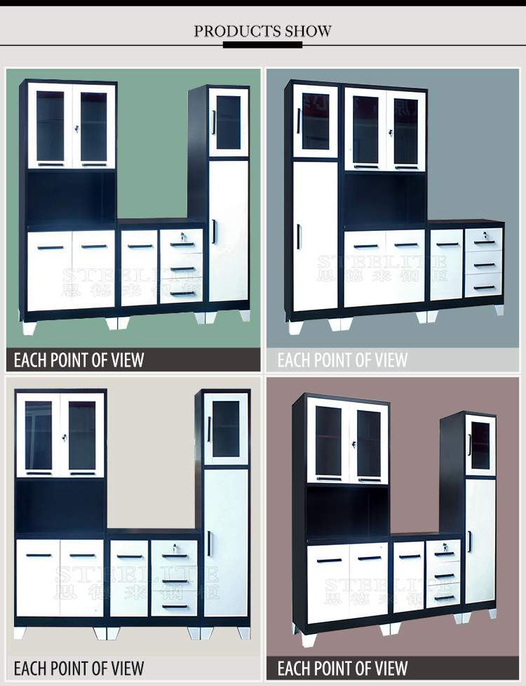 Africa hot selling iron kitchen cabinet cupboard brazil for Kitchen cabinets zambia